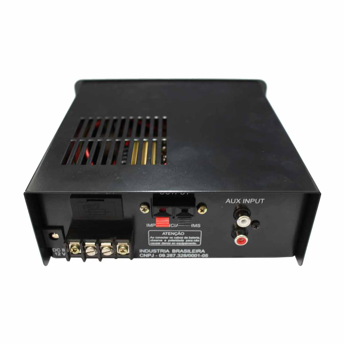 DC80 - Amplificador 12V c/ USB DC 80 - PWS