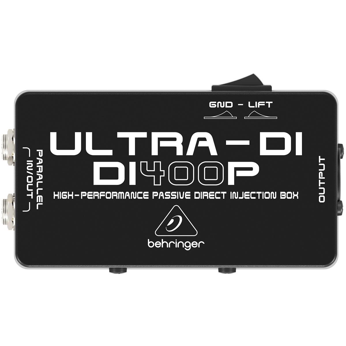 DI400P - Direct Box Passivo Ultra-DI DI 400P - Behringer