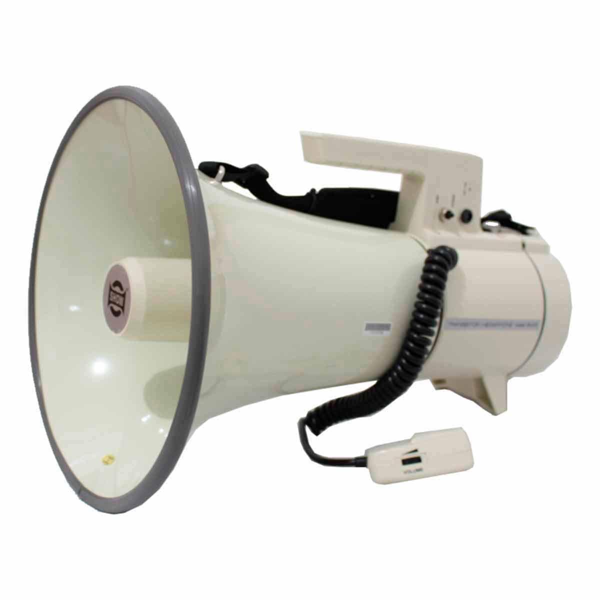 Megafone 35W c/ Microfone de Mão e Sirene ER 67 - CSR
