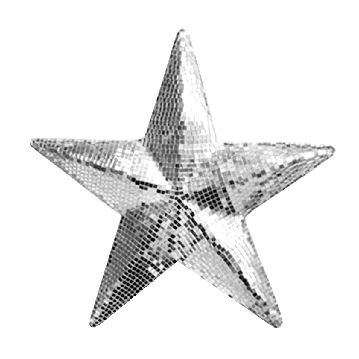 Estrela Espelhada 30cm LES 30 - Lumyna Light