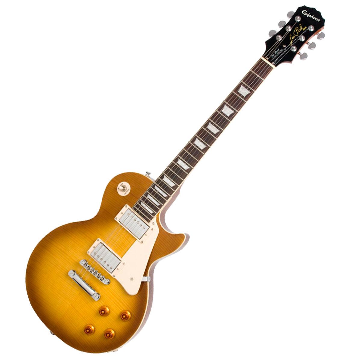Guitarra Les Paul Standard Plus Top PRO Case Honeyburst - Epiphone