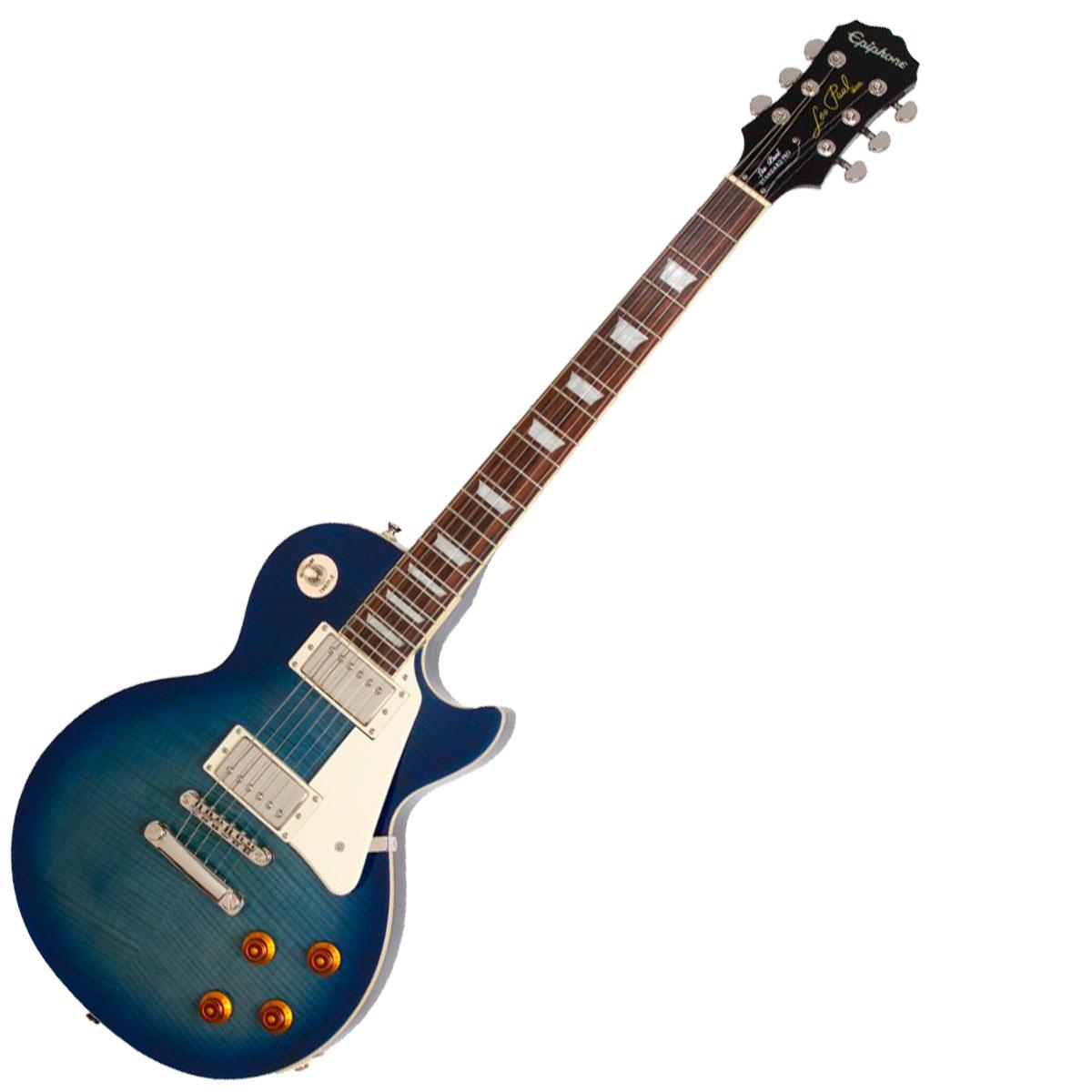 Guitarra Les Paul 6 Cordas 22 Trastes - Standard Plus Top PRO Epiphone
