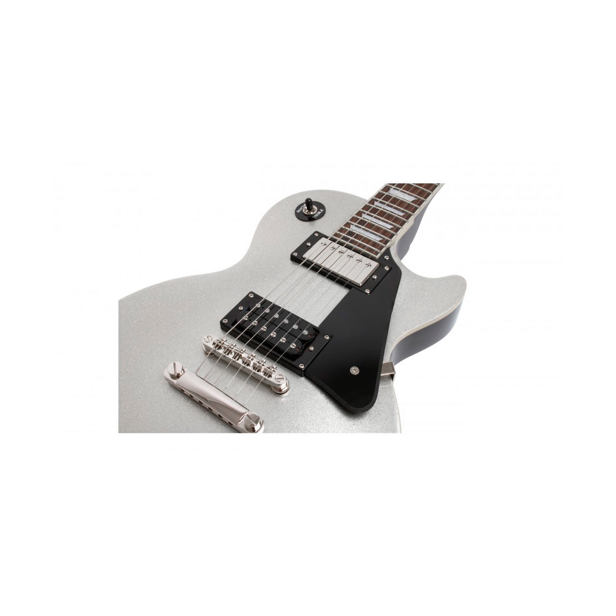 Guitarra Les Paul Standard Tommy Thayer Spaceman Limited Edition Silver Flake - Epiphone