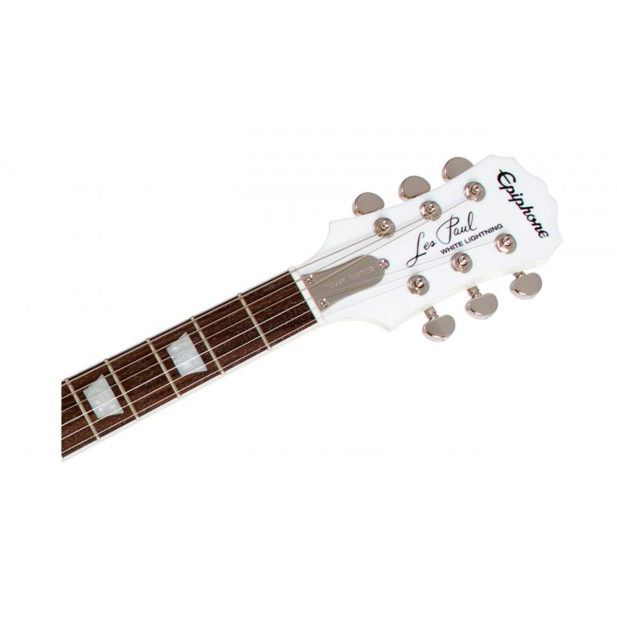 Guitarra Les Paul Standard Tommy Thayer White Lightning Limited Edition - Epiphone