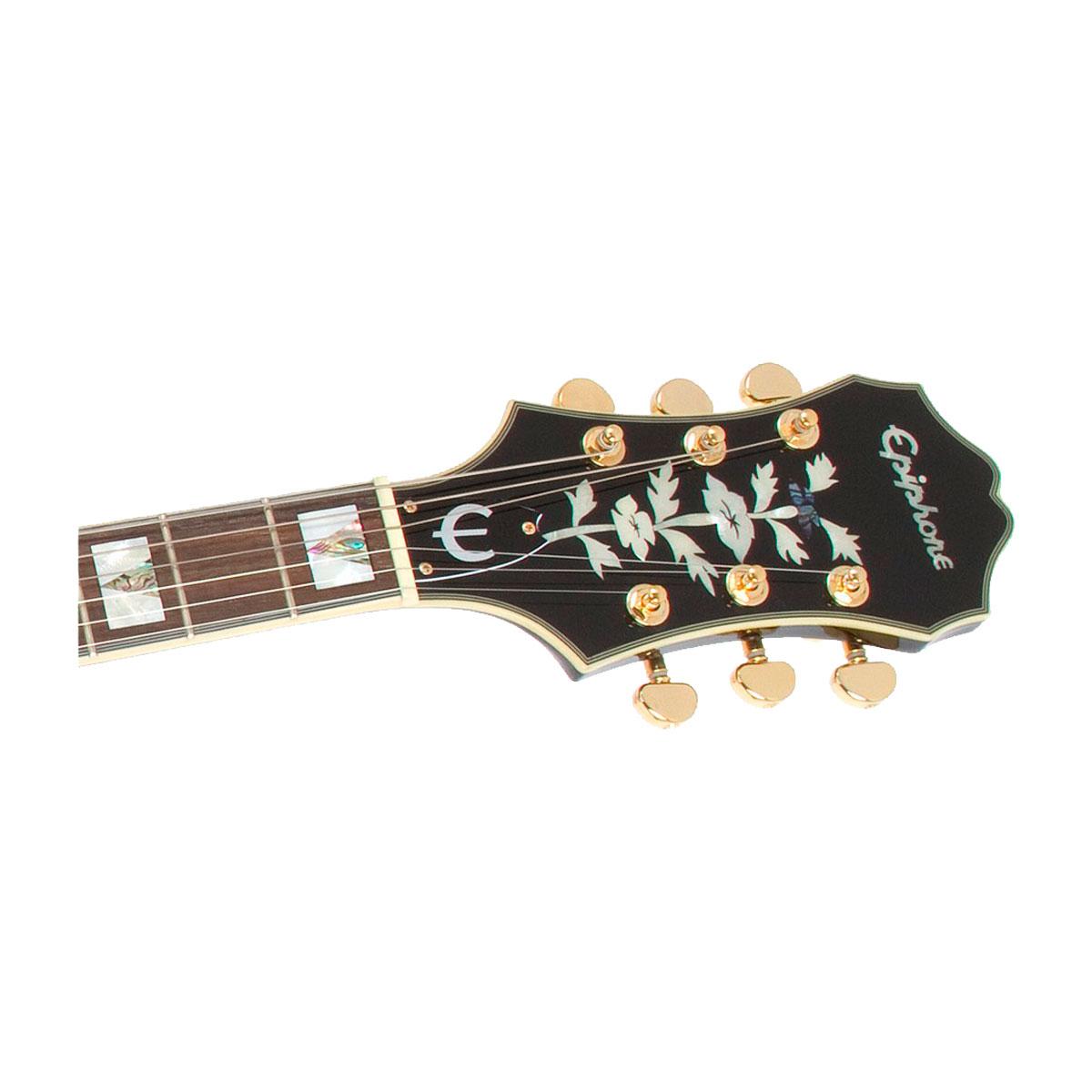 Guitarra Semi Acustica Sheraton II Black - Epiphone
