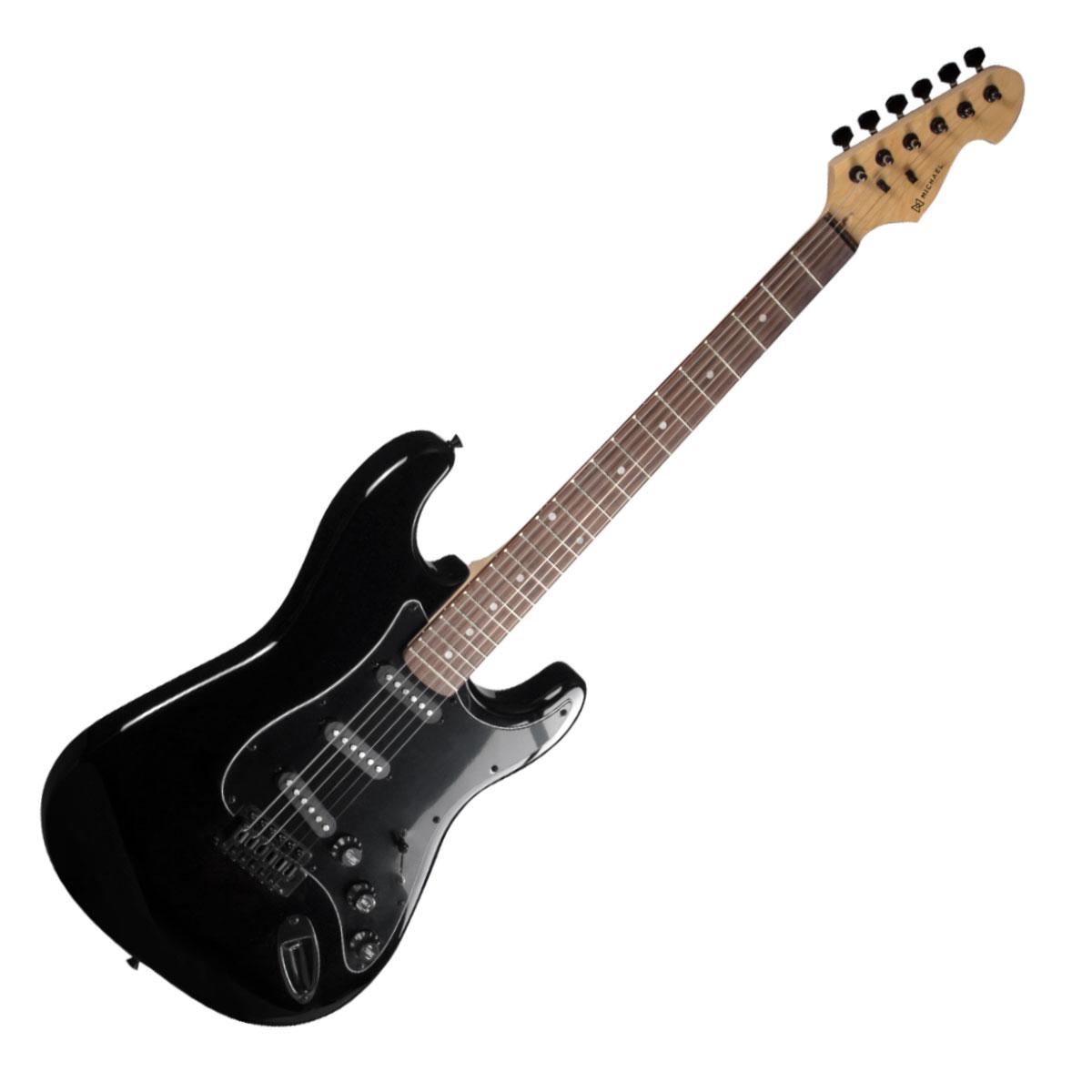 Guitarra Strato Advanced GM227 MBA Preta Met�lica - Michael