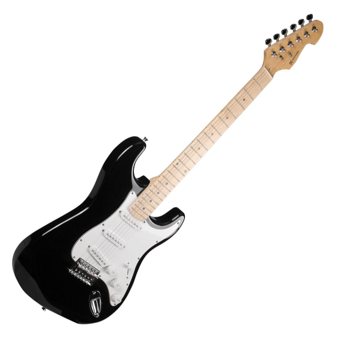 Guitarra Strato Advanced GM227 MBK Preta Met�lica - Michael