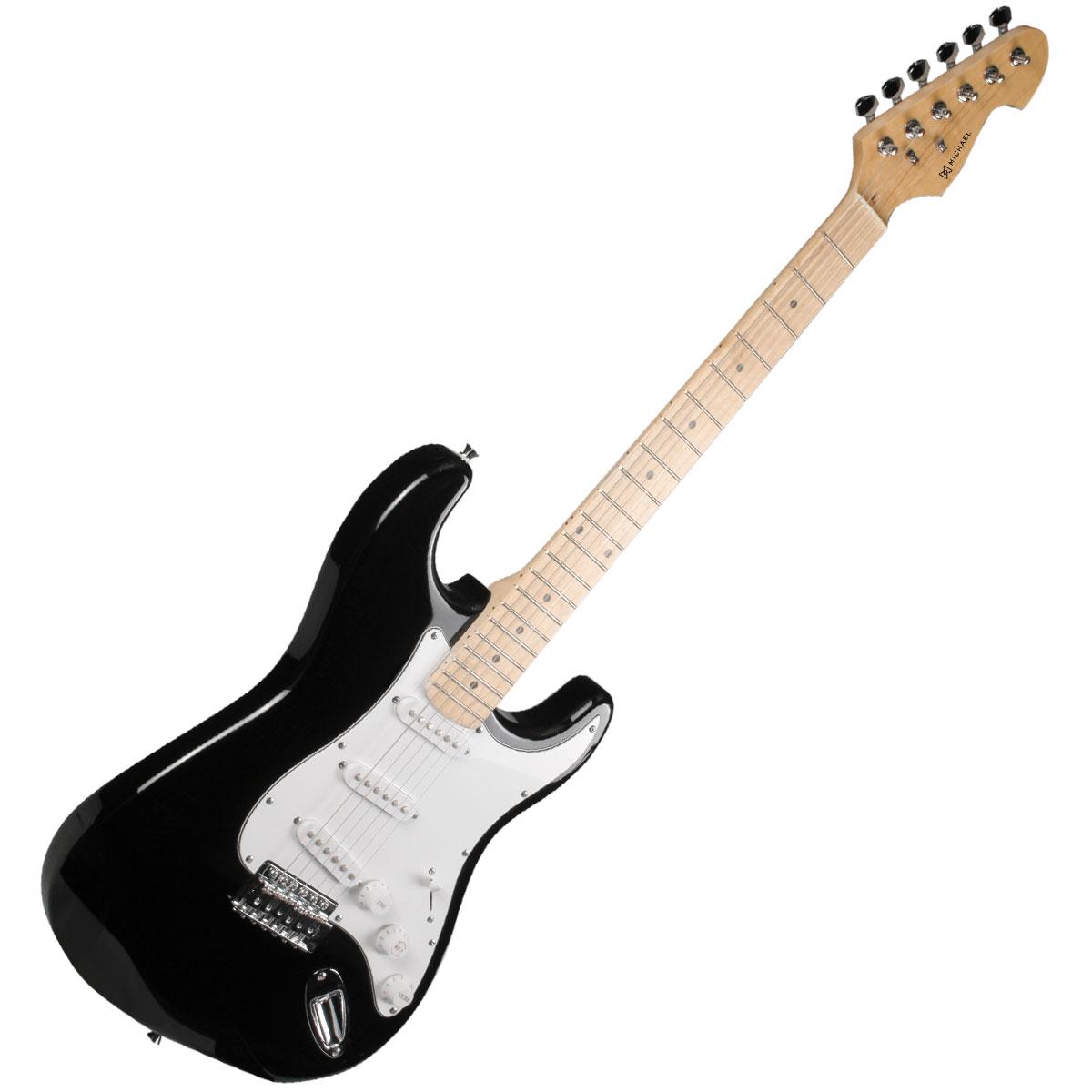 Guitarra Strato Advanced GM227 MBK Preta Metálica - Michael