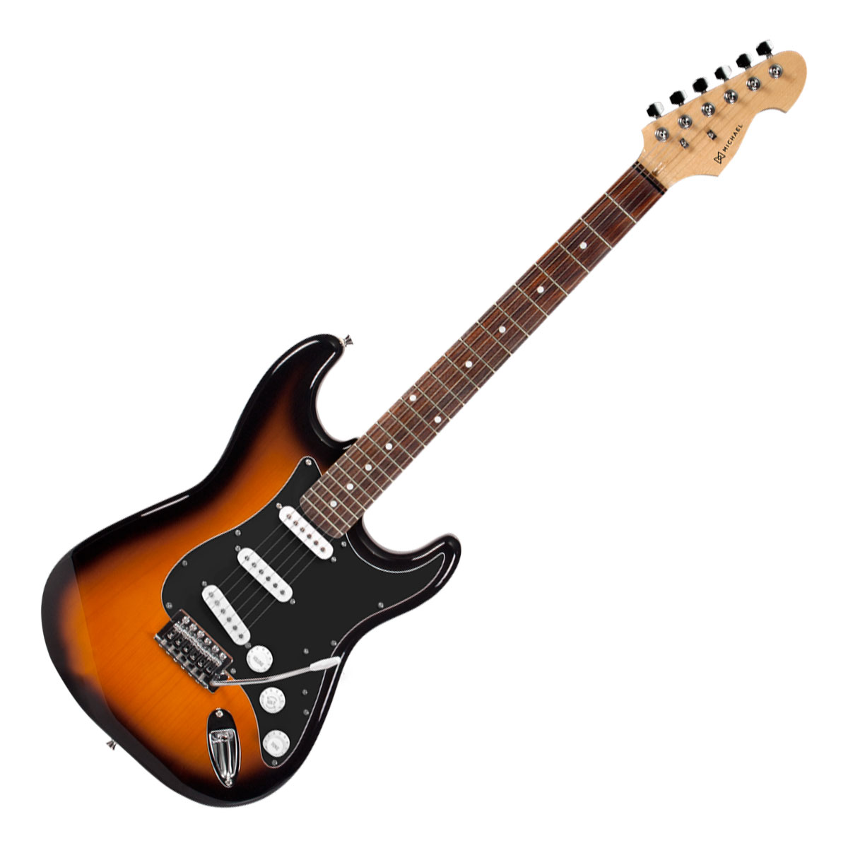 Guitarra Strato Advanced GM227 SK Black Sunburst  - Michael