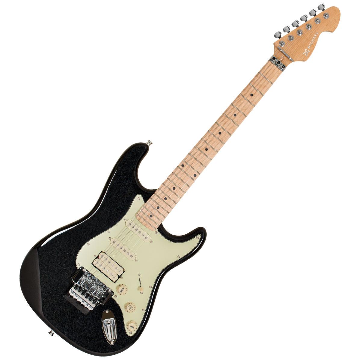 Guitarra Strato Fly Advanced GM247 MBK Preta Metálica - Michael