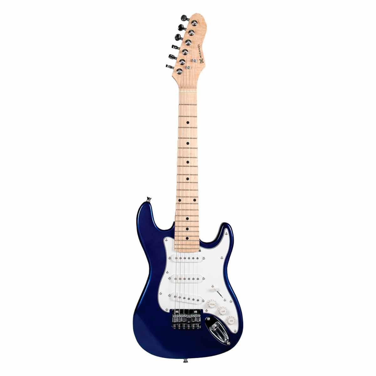 Guitarra Strato Infantil Standard GM219 MB Azul Met�lica - Michael