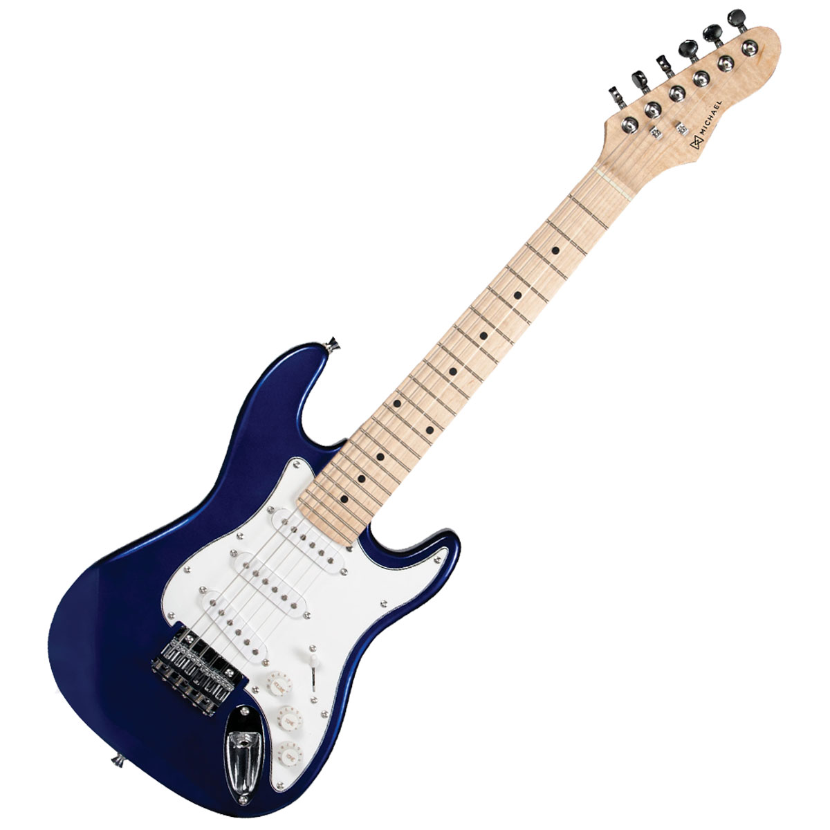 Guitarra Strato Infantil Standard GM219 MB Azul Metálica - Michael