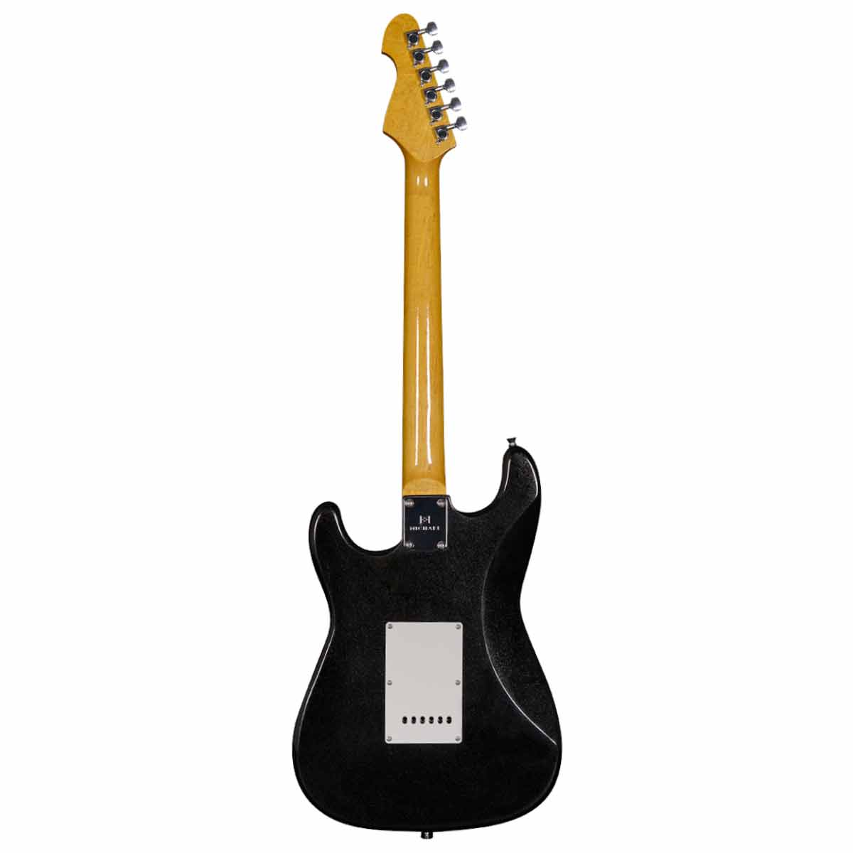Guitarra Strato Stonehenge GM222N MBK Preta Met�lica - Michael