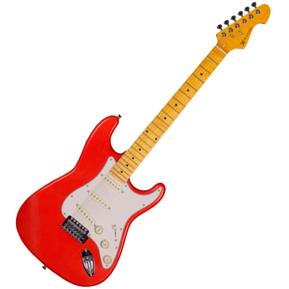 Guitarra Strato Stonehenge GM222N MR Vermelha Met�lica - Michael