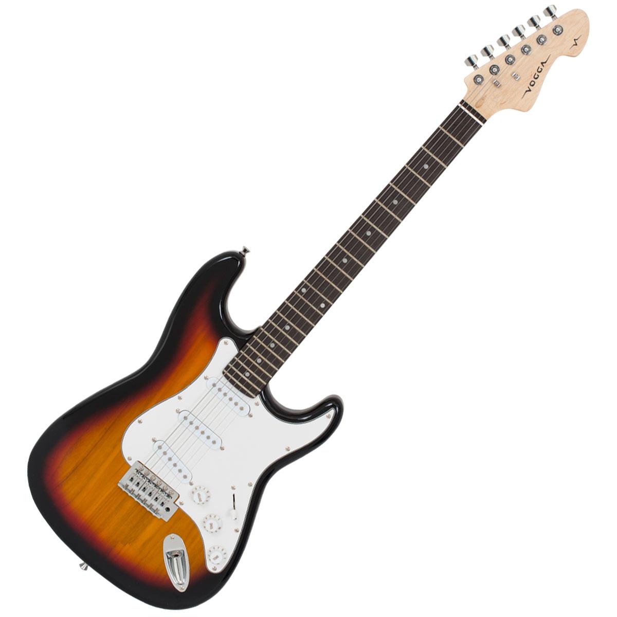 Guitarra Strato VCG601N Amarelo Sunburst - Vogga