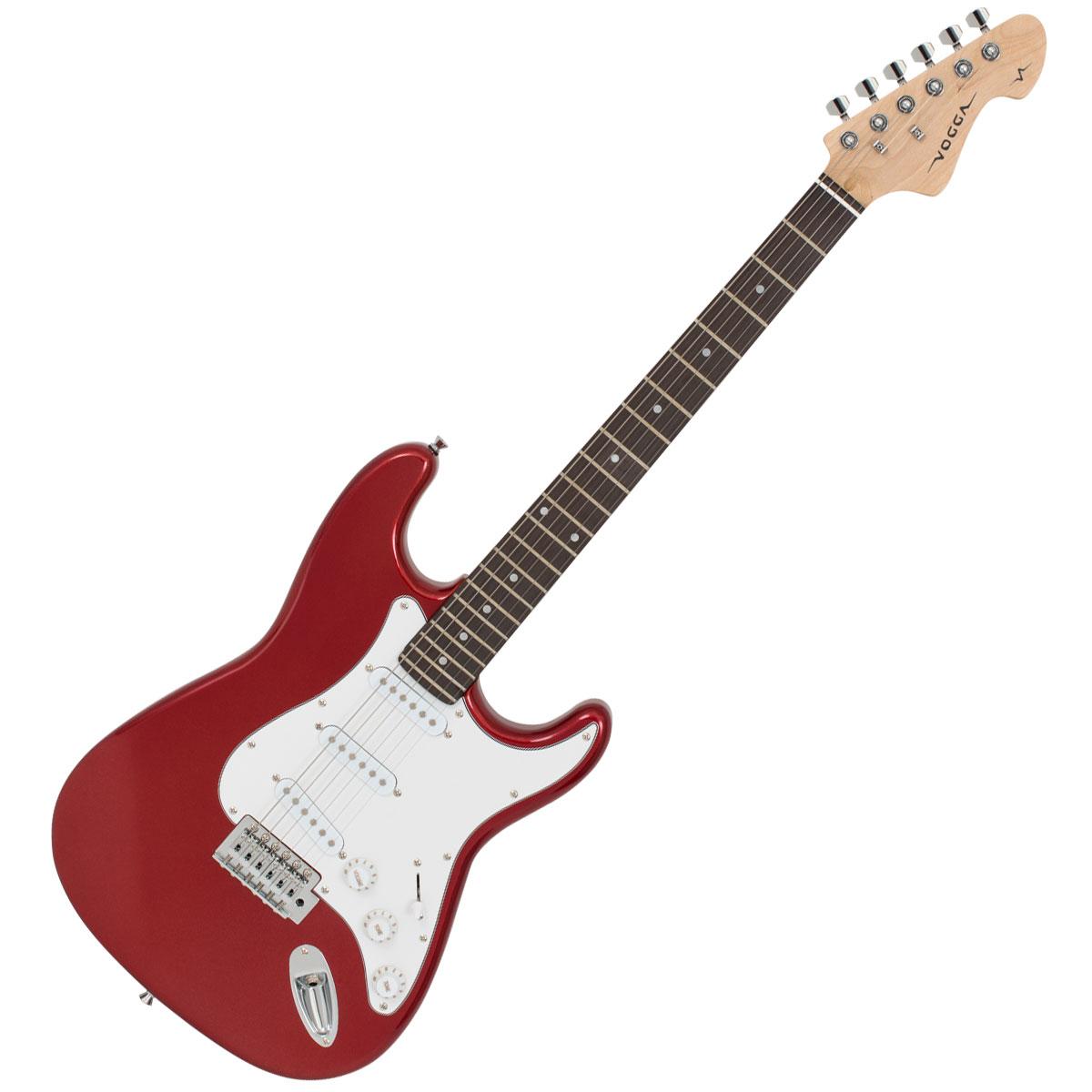 Guitarra Strato VCG601N Vermelho Met�lico - Vogga