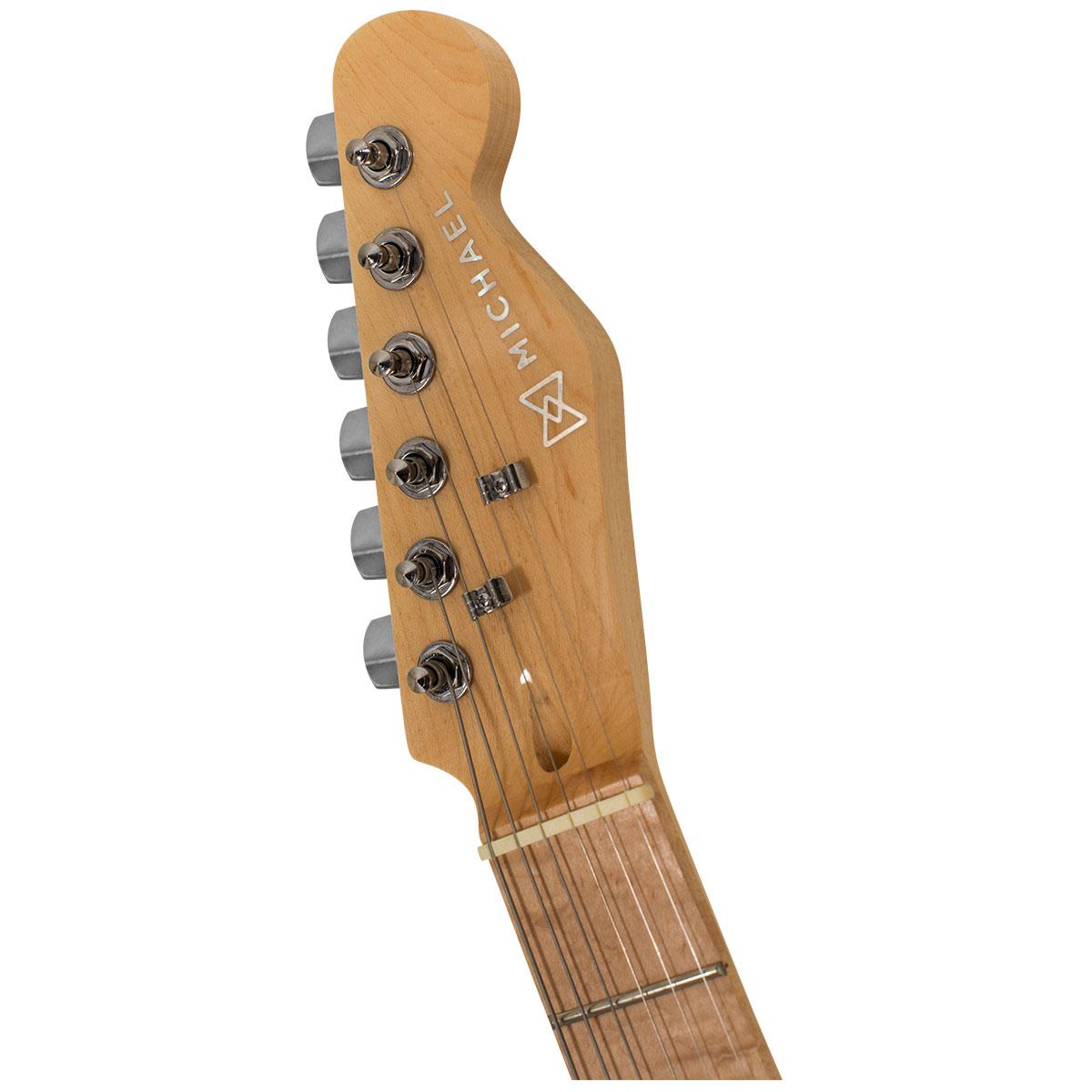 Guitarra Telecaster Slide GM385 MBK Preta Metálica - Michael