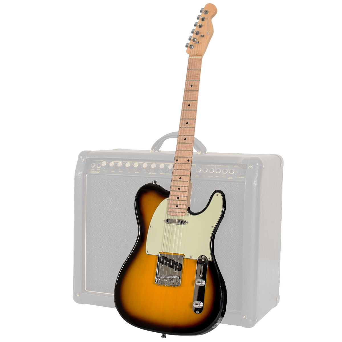 Guitarra Telecaster Slide GM385 VS Vintage Sunburst - Michael
