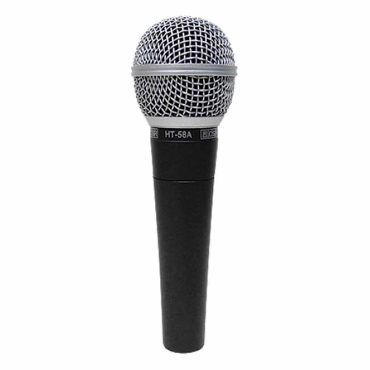 HT58A - Microfone c/ Fio de Mão HT 58 A - CSR