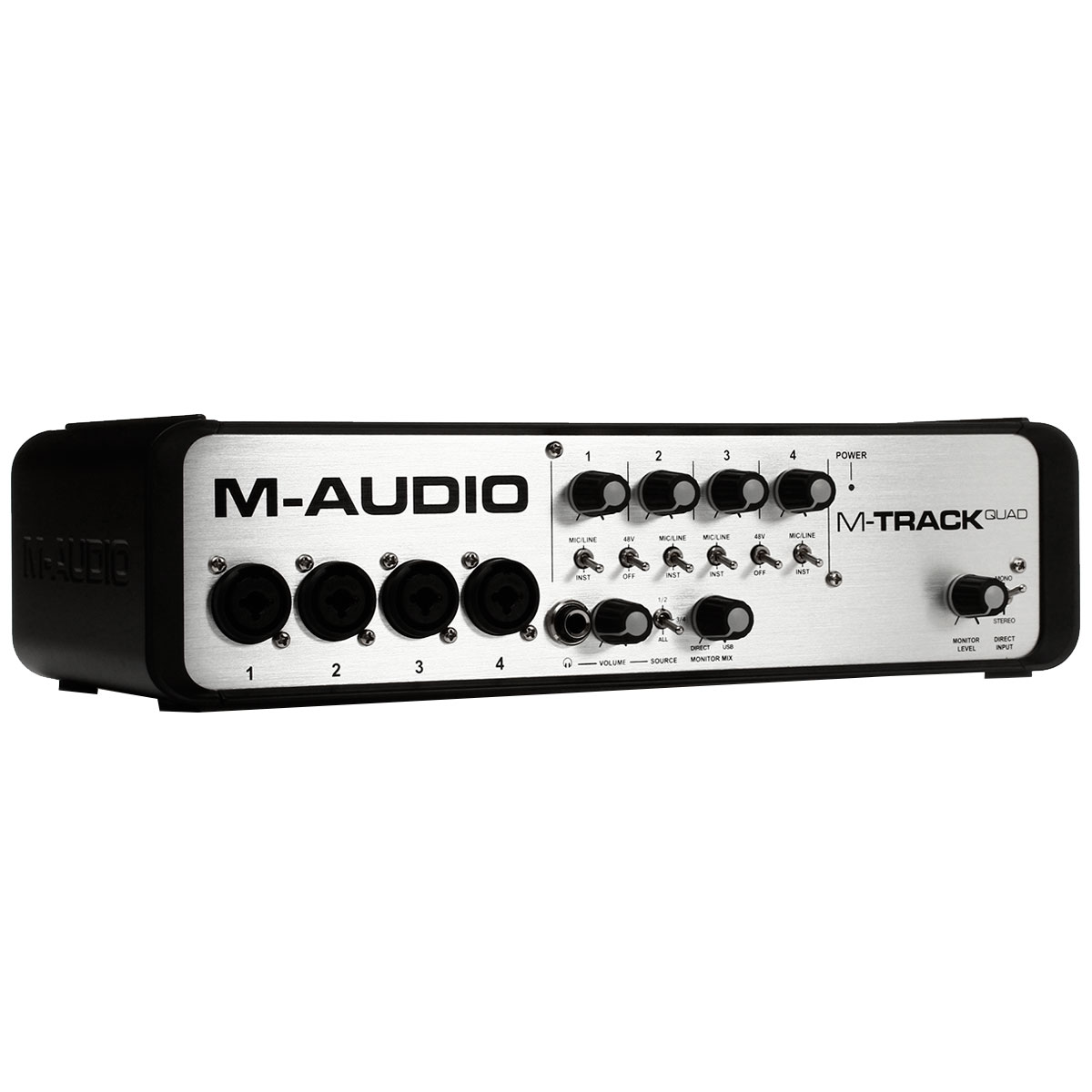 Interface de �udio 4 Canais USB M-Track Quad - M-Audio