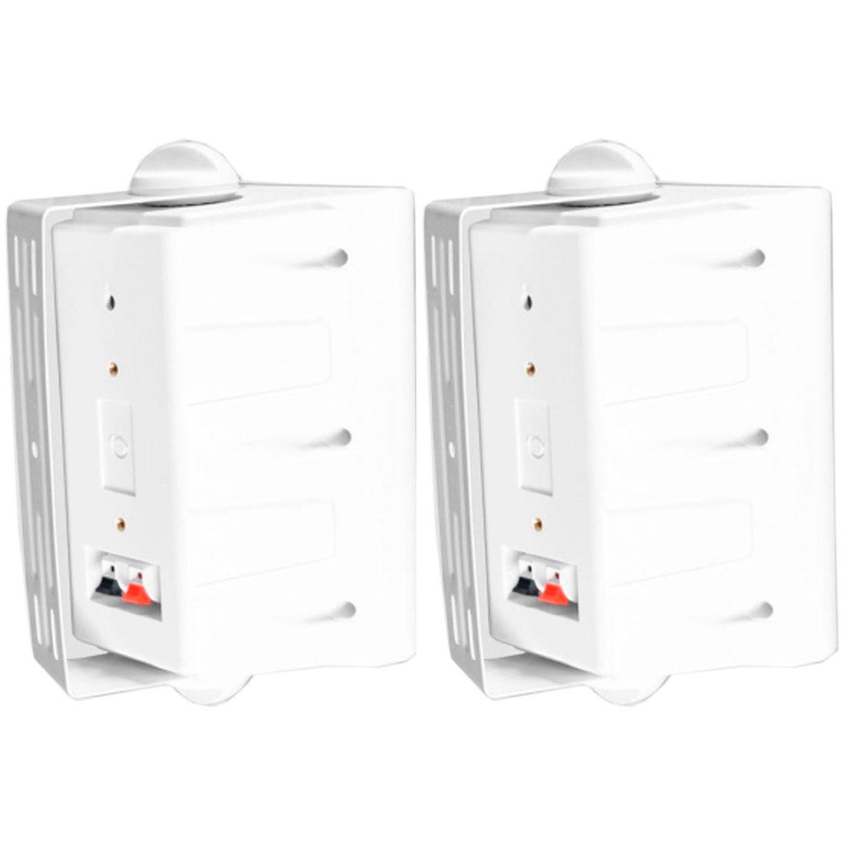 Caixa Passiva p/ Som Ambiente Fal 5 Pol 60W c/ Suporte (Par) - IT 50 Leacs