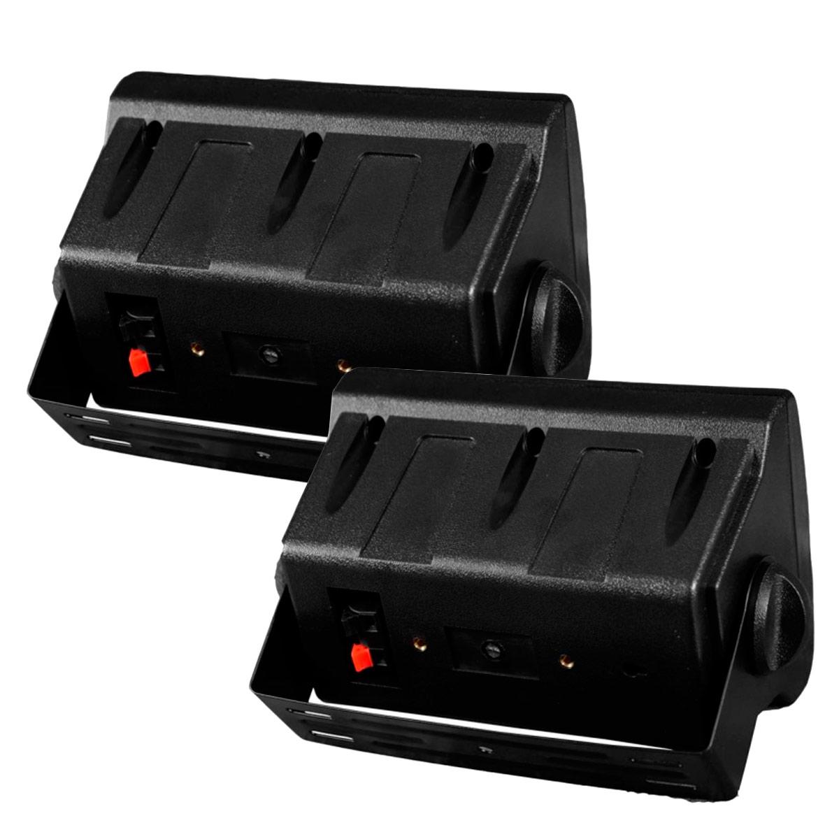 IT65 - Caixa Passiva 75W Preta c/ Suporte ( Par ) IT 65 - Leacs