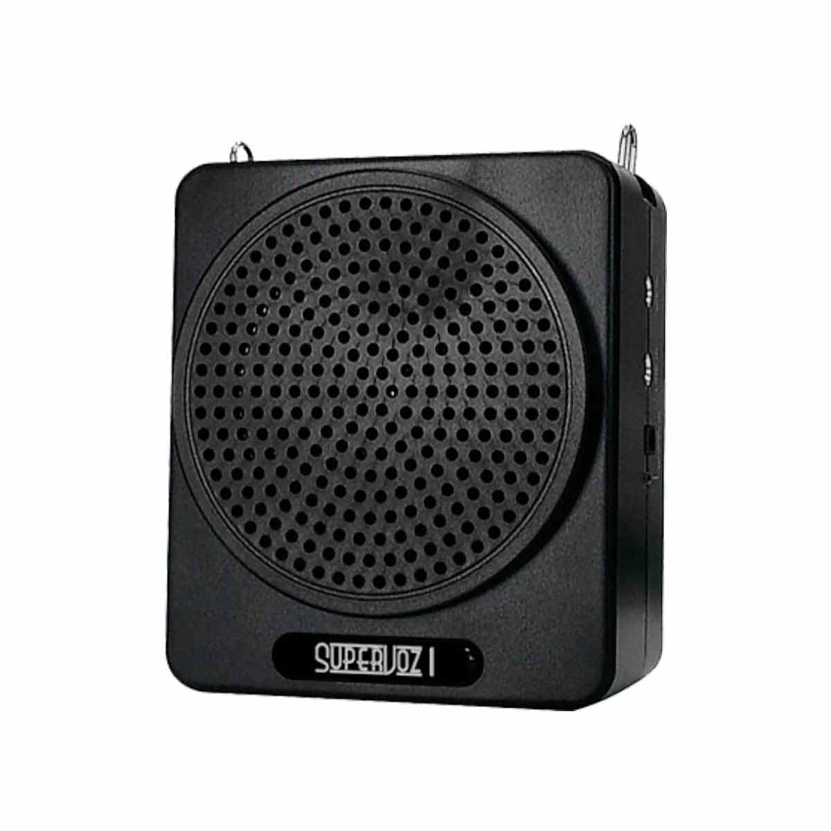 Kit Professor Port�til c/ Caixa + Microfone c/ Fio Supervoz I TSI-625 Preto - TSI