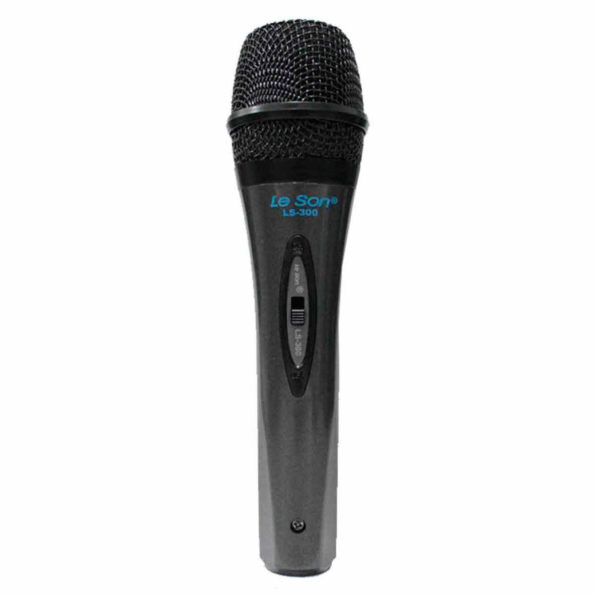 LS300 - Microfone c/ Fio de Mão LS 300 - Le Son