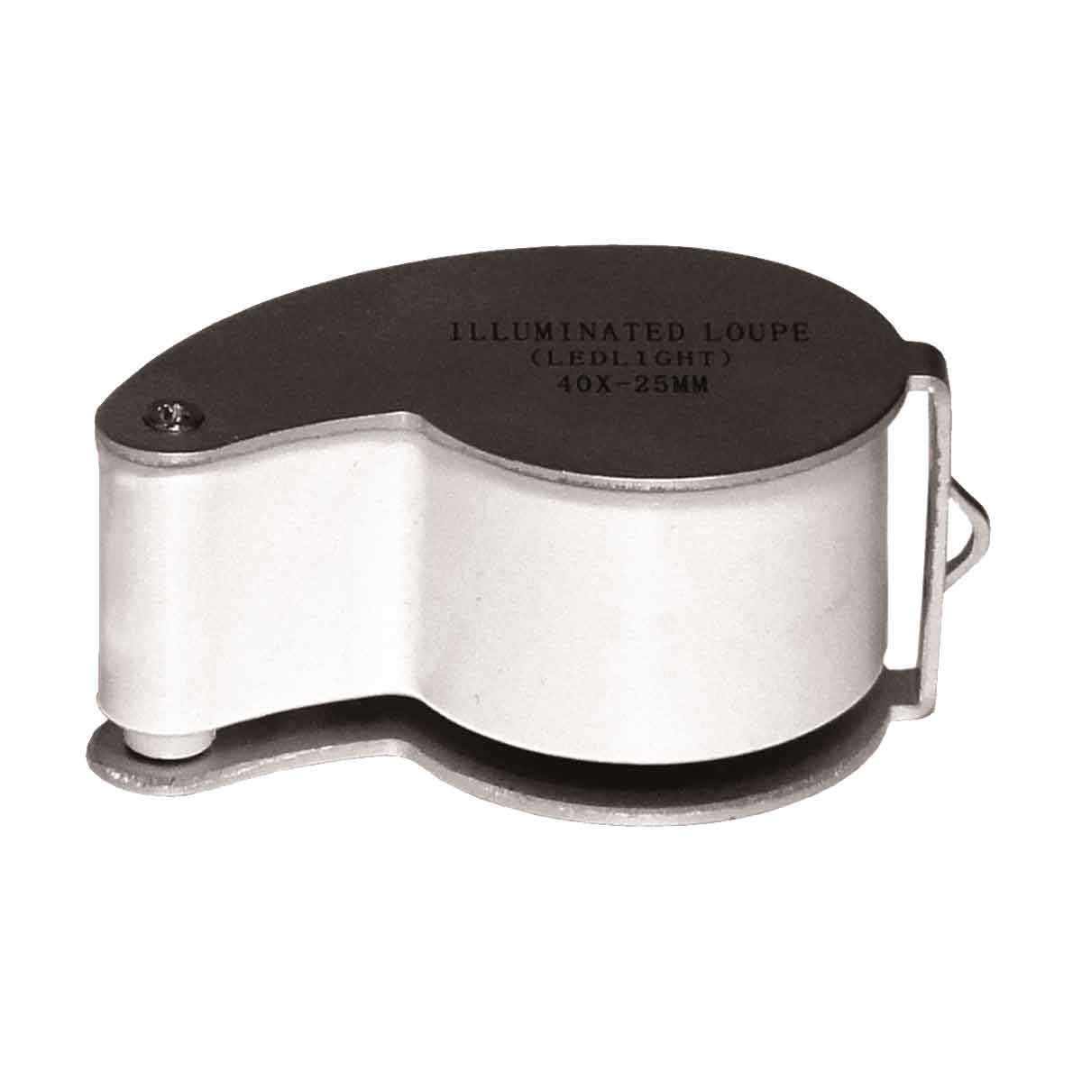 Lupa p / Joalheiro e Relojoeiro 25mm c / Iluminação LED - MG 21011 CSR