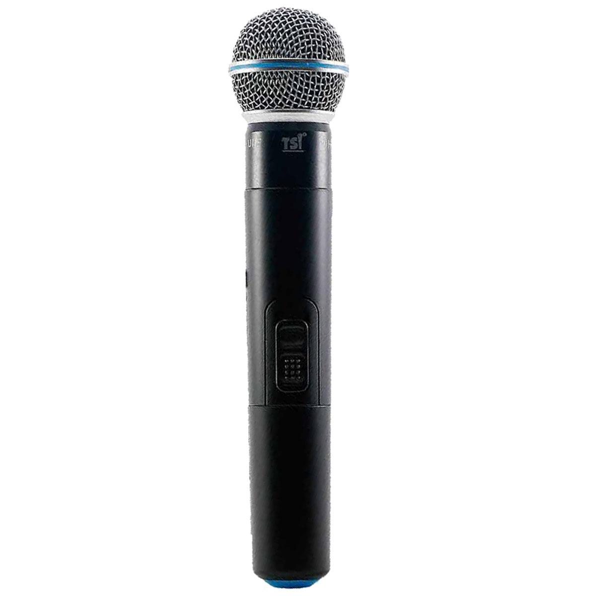 Microfone s/ Fio de Mão UHF - MS 115 UHF PLUS TSI