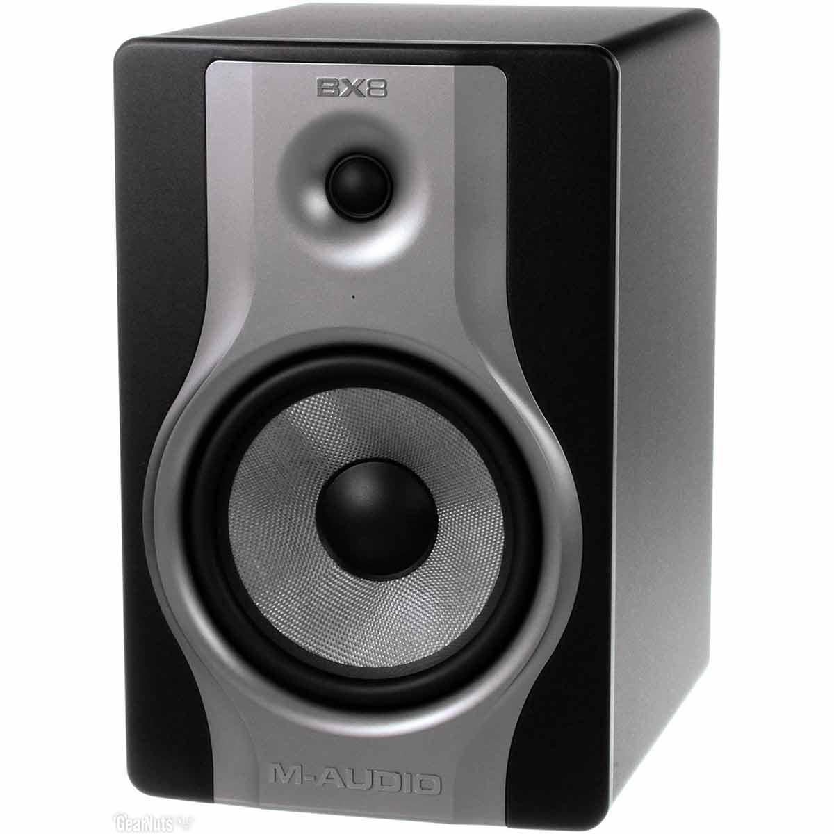 Monitor de Refer�ncia 130W BX8 Carbon ( Par ) - M-Audio