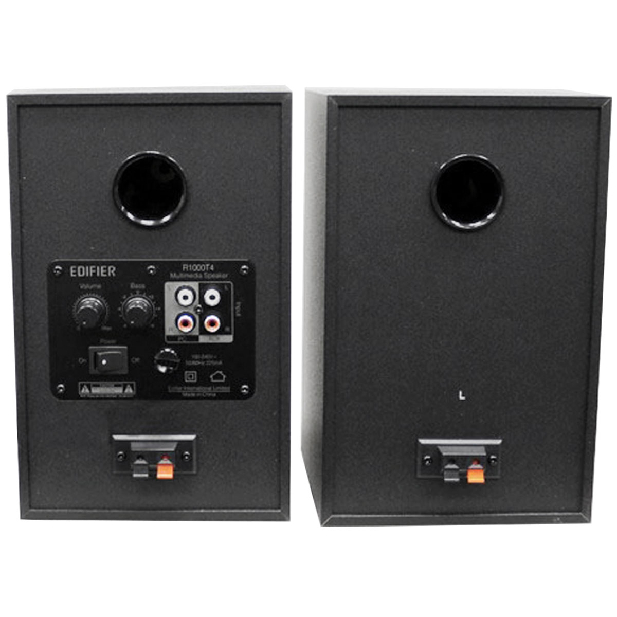 Monitor de Referência Ativo Fal 4 Pol 24W (Par) - R 1000 T 4 Edifier