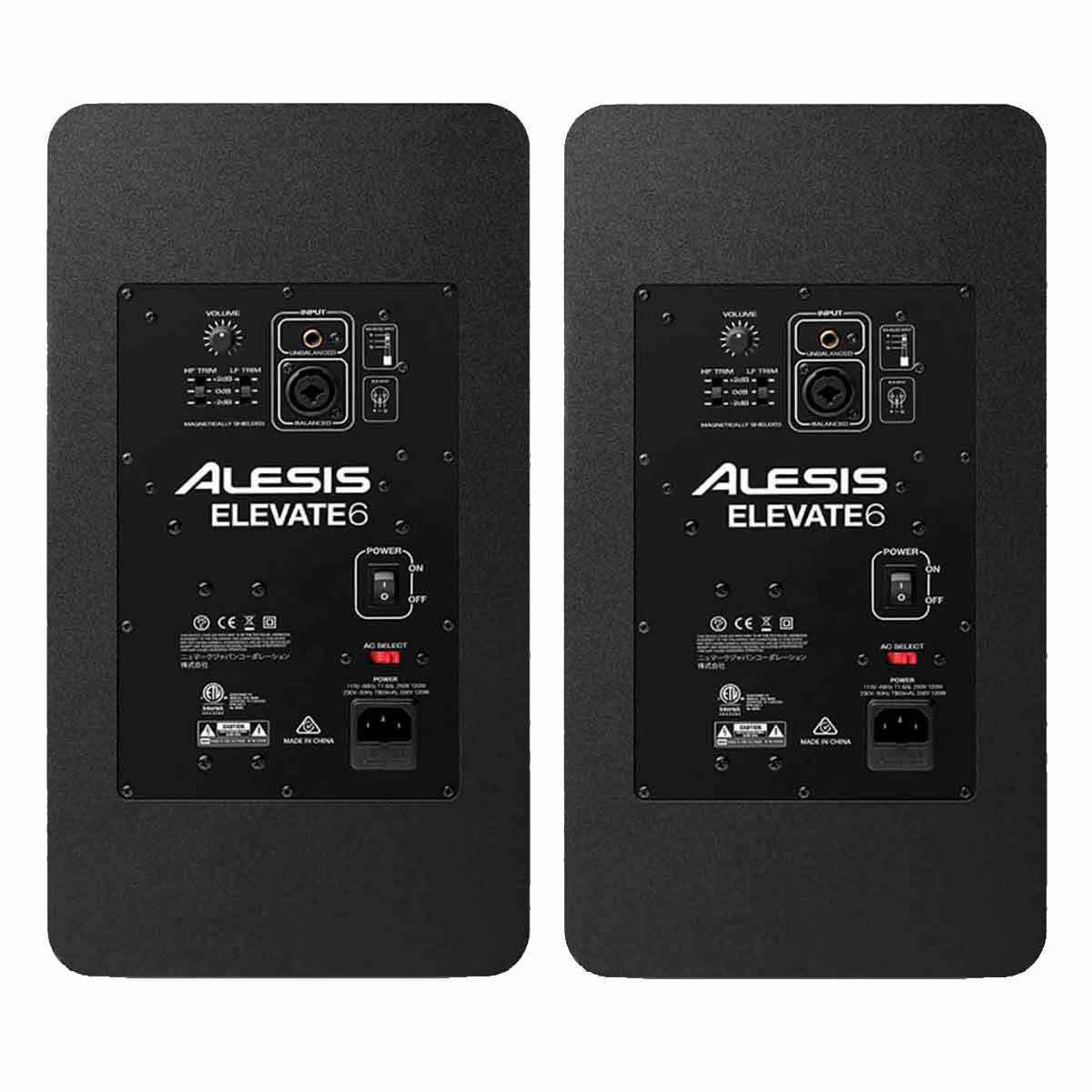 Monitor de Referência Ativo Fal 6,5 Pol 75W (Par) - Elevate 6 Alexis