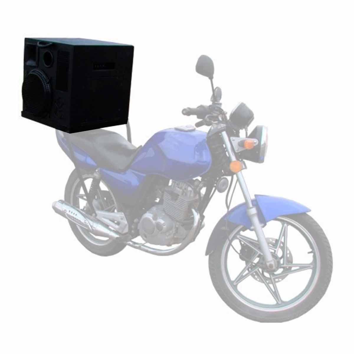 MotoVolante - Caixa Ativa 200W c/ USB p/ Propagandas em Geral Moto Volante - Leacs