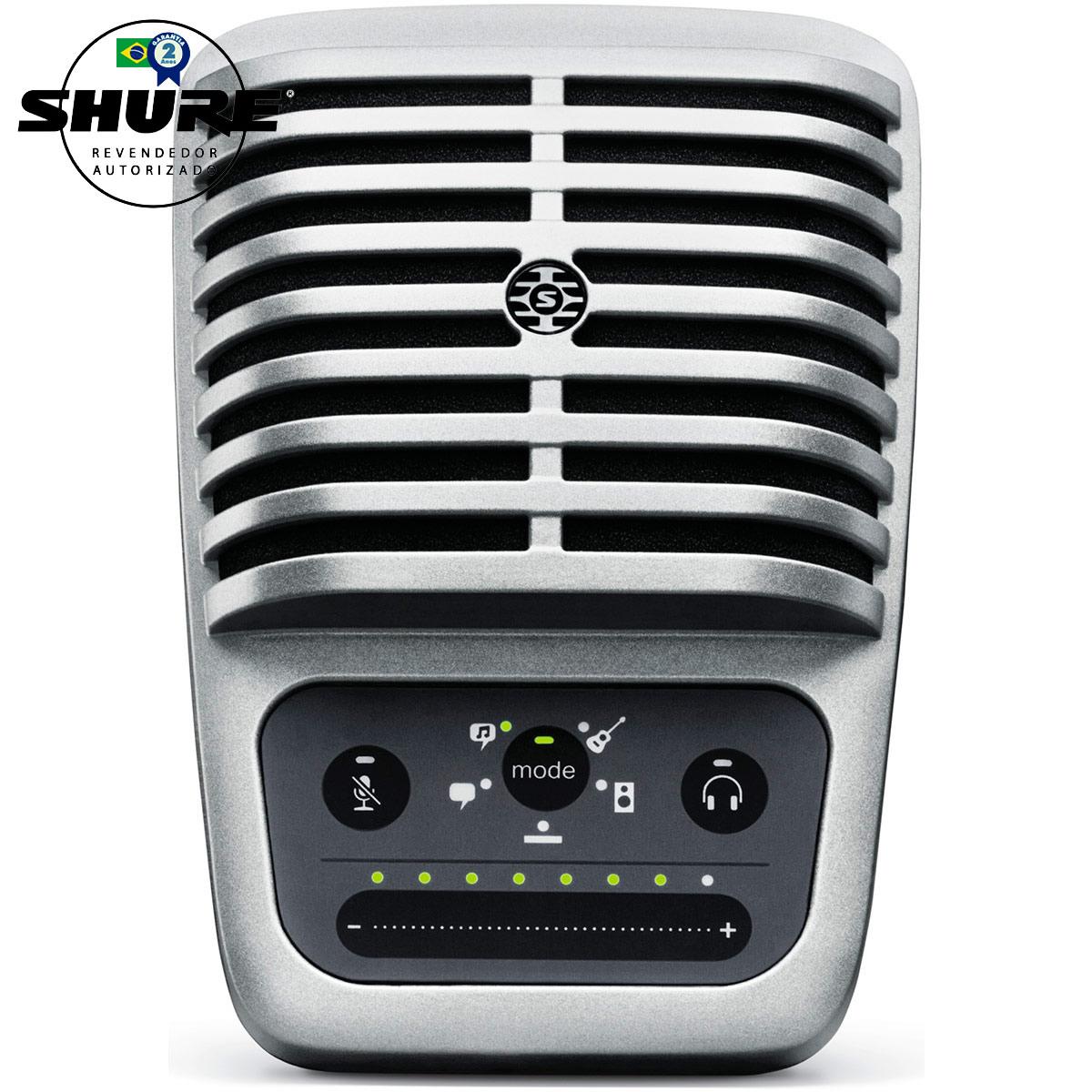 MV51 - Microfone Condensador Digital USB MOTIV MV 51 - Shure