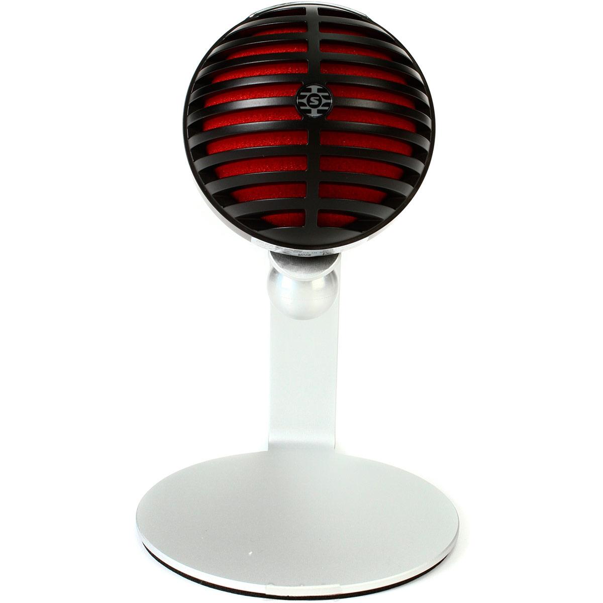 MV5 - Microfone Condensador Digital USB Preto MOTIV MV 5 - Shure