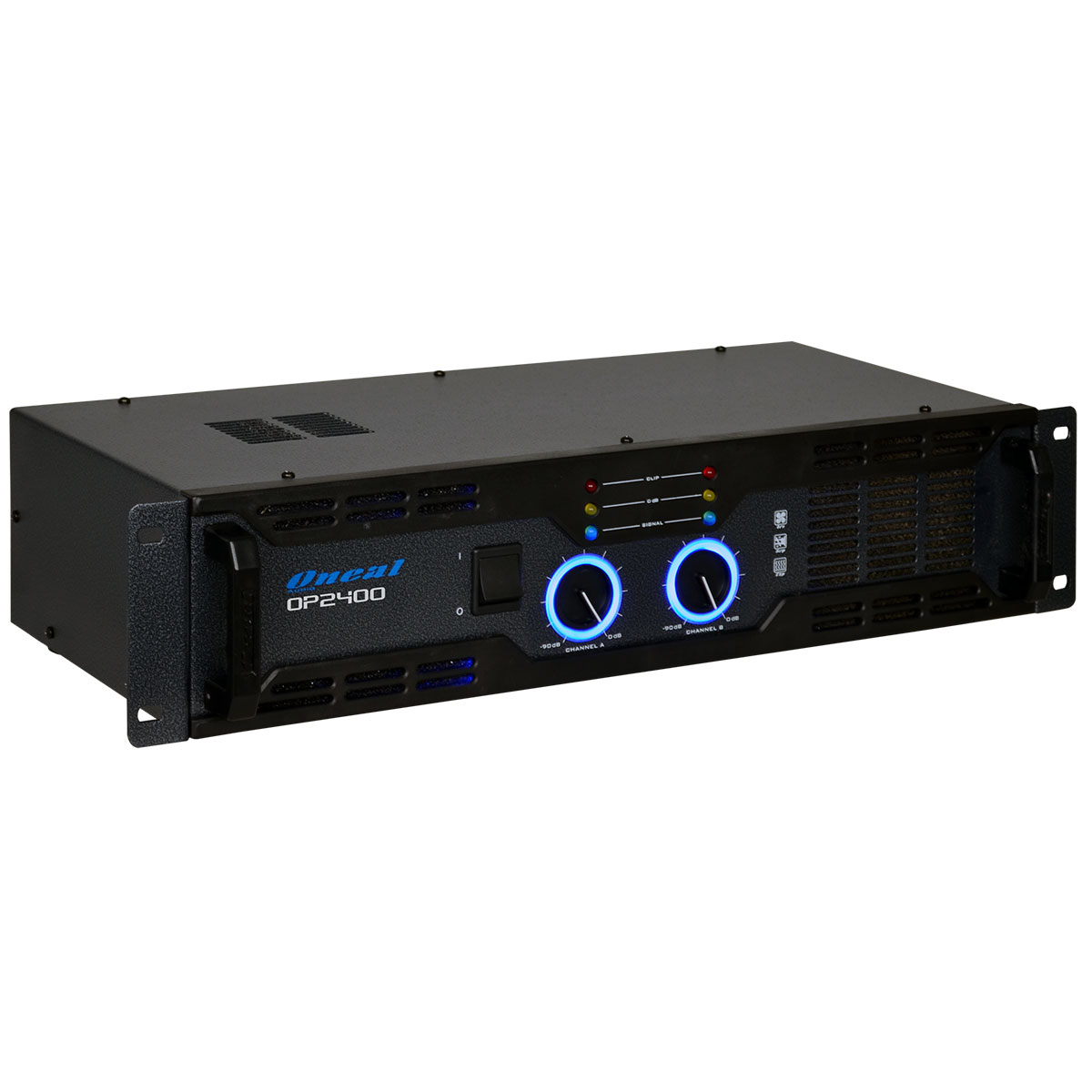 Amplificador Estéreo 2 Canais 400W RMS ( Total ) OP 2400 - Oneal