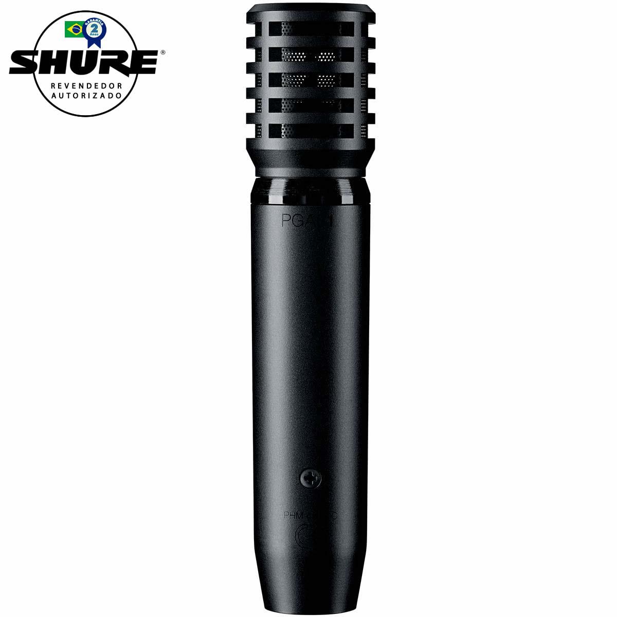 PGA81XLR - Microfone c/ Fio p/ Instrumentos PGA 81 XLR - Shure