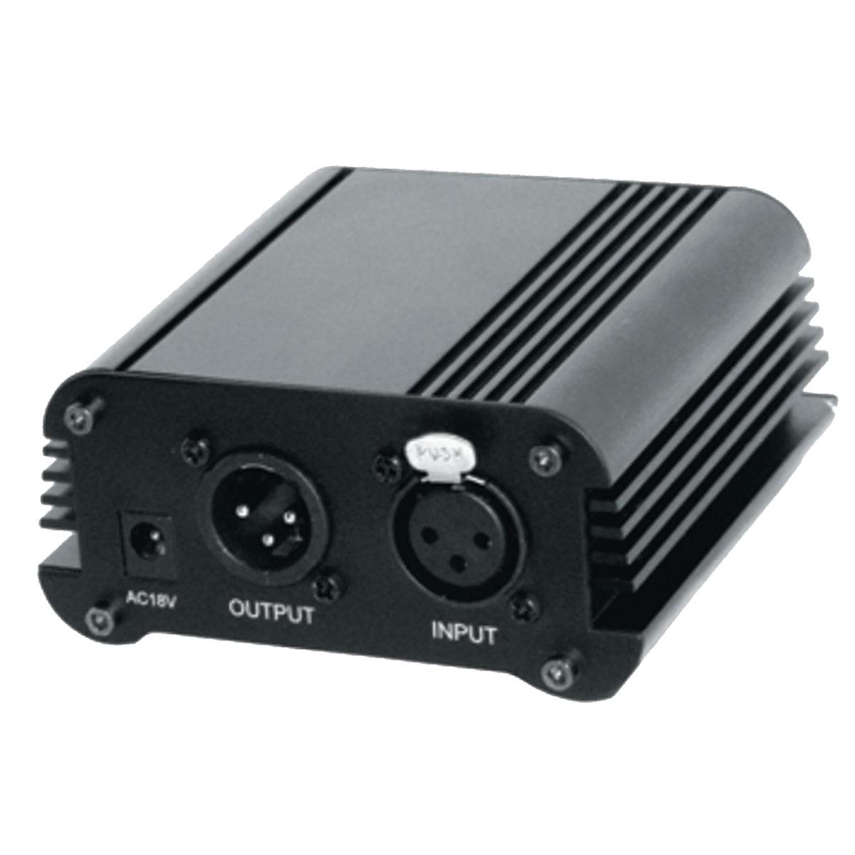 Phantom Power p/ Microfone 1 Canal CSR PH3 - CSR