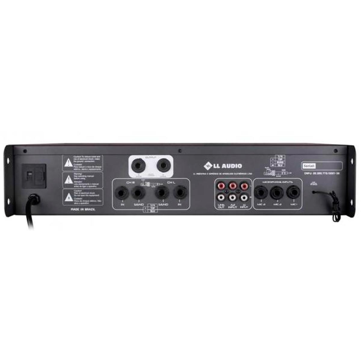 Amplificador Som Ambiente 250W c/ USB e FM PWM 1000 FM - NCA