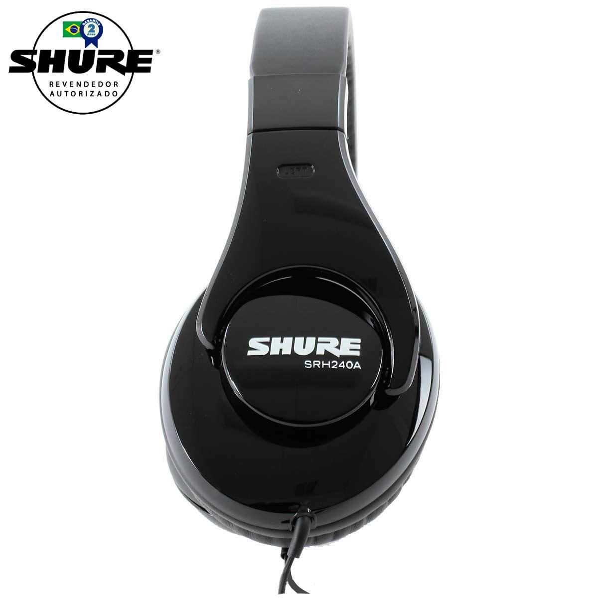 SRH240A - Fone de Ouvido Over-ear SRH 240 A - Shure