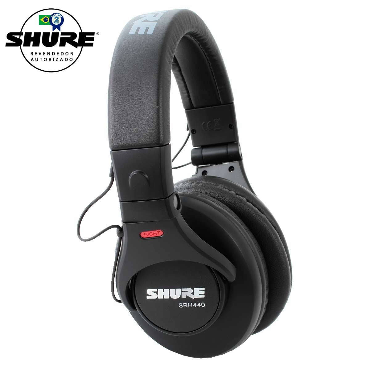SRH440 - Fone de Ouvido Over-ear SRH 440 - Shure