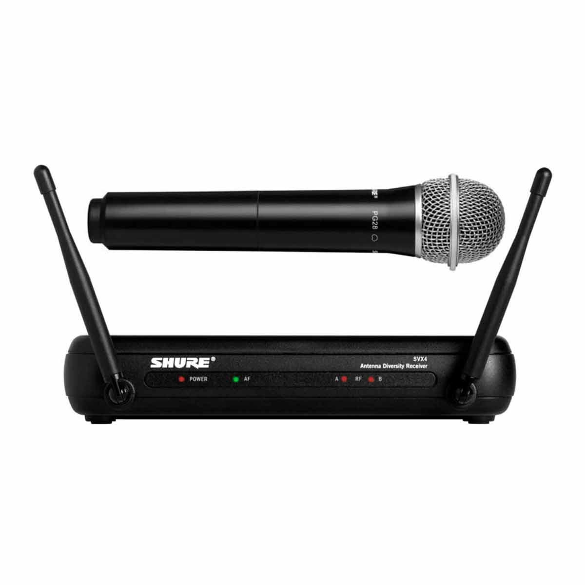 SVX24BRPG28 - Microfone s/ Fio de Mão SVX 24BR PG28 - Shure