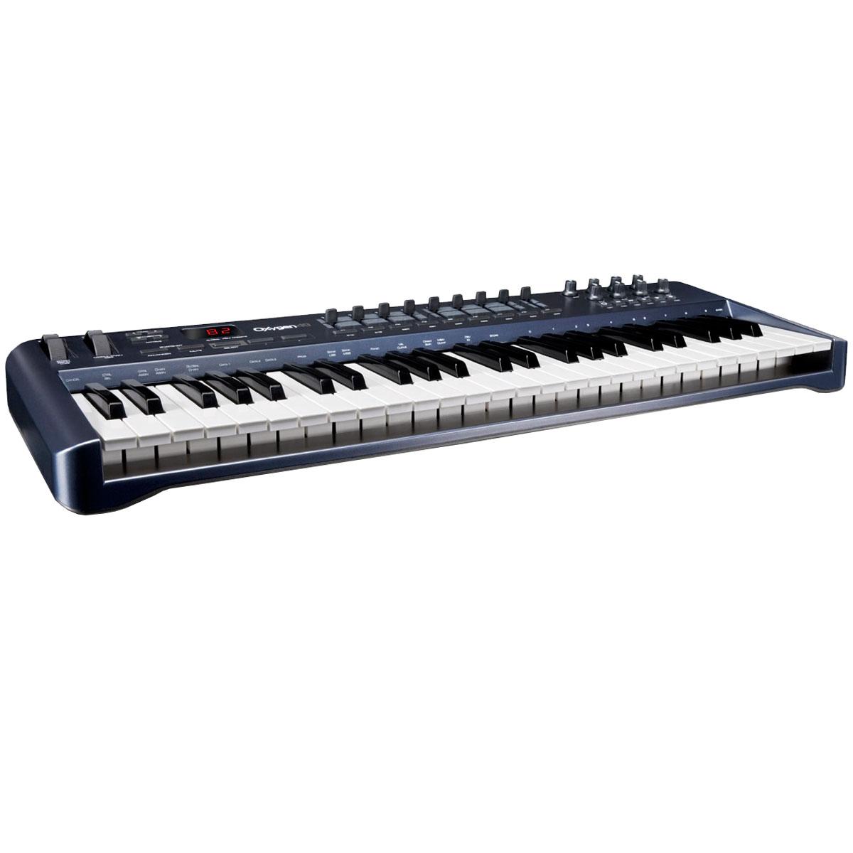 Teclado Controlador MIDI / USB Oxygen 49 - M-Audio