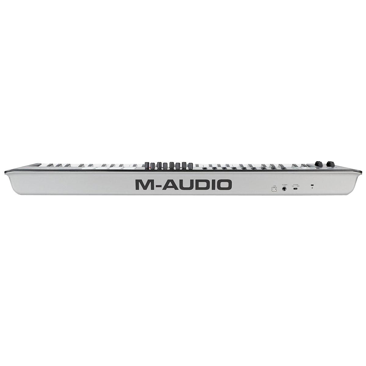 Teclado Controlador MIDI 61 Teclas c/ USB - Oxygen 61 MK IV M-Audio