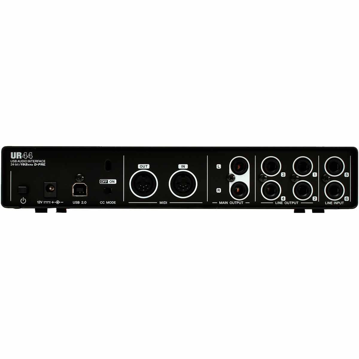 UR44 - Interface de �udio 6 IN x 4 OUT c/ USB UR 44 - Steinberg