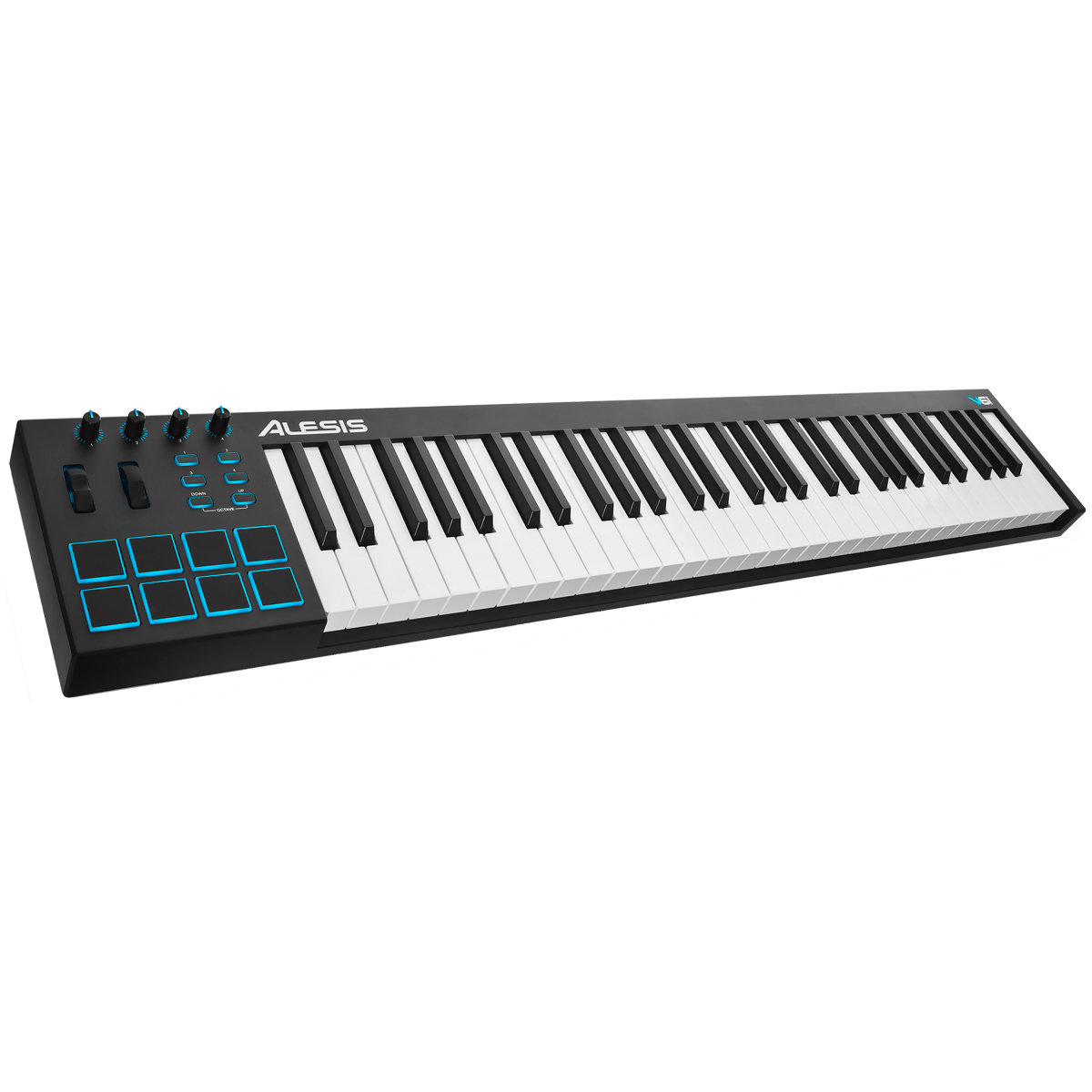 V61 - Teclado Controlador MIDI / USB V 61 - Alesis