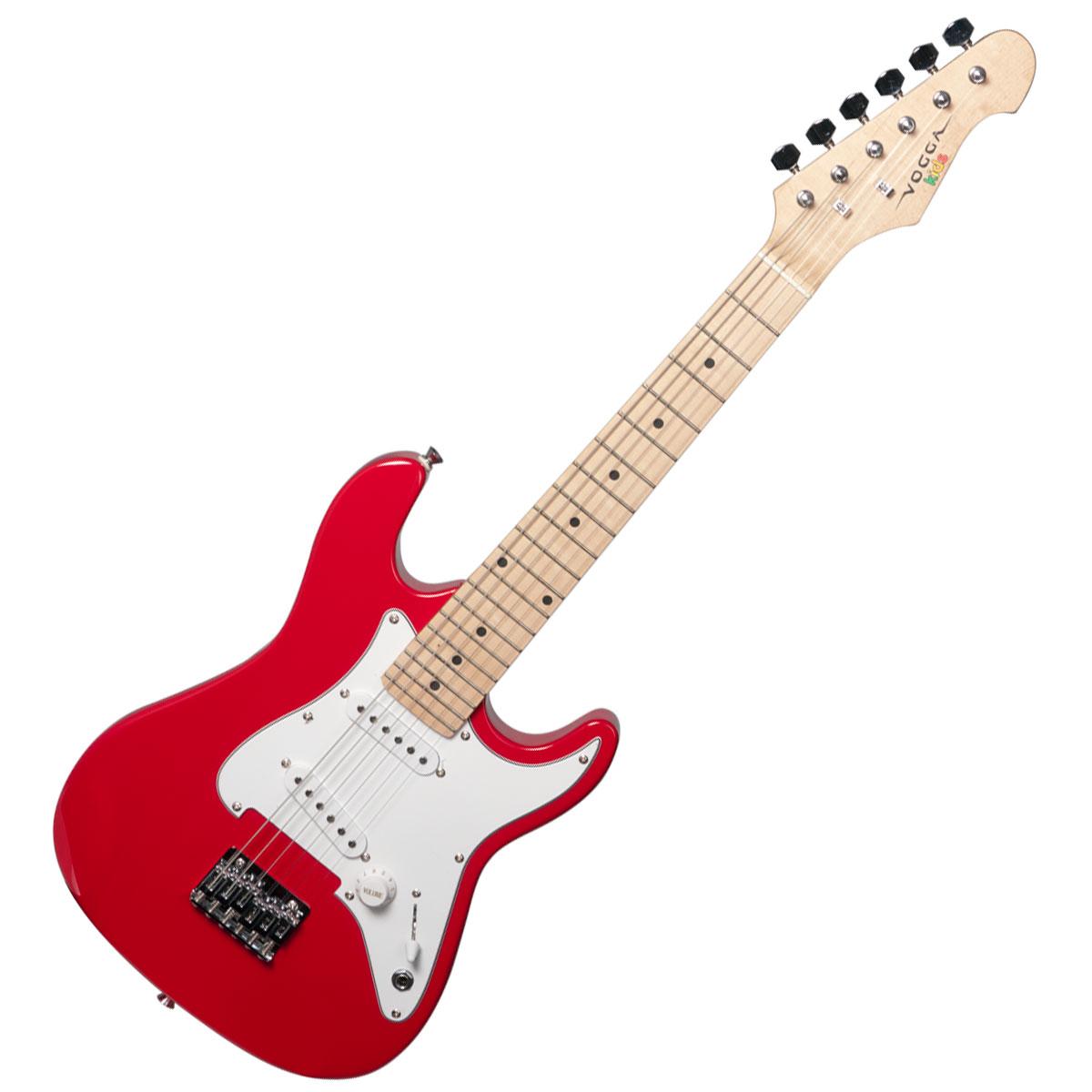 Guitarra Strato Infantil VCG120 Vermelha - Vogga