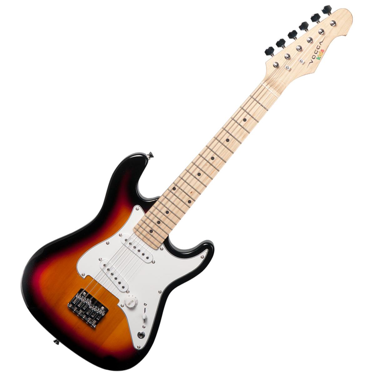 Guitarra Strato Infantil VCG120 Yellow Sunburst - Vogga