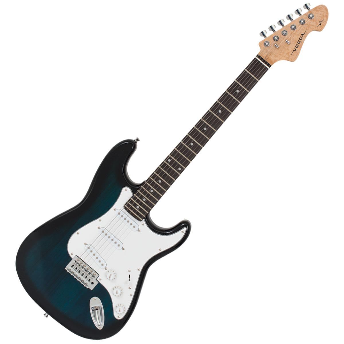 Guitarra Strato VCG601N Azul Sunburst - Vogga